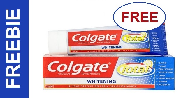 FREE Colgate Total Toothpaste at CVS 2-2-2-8