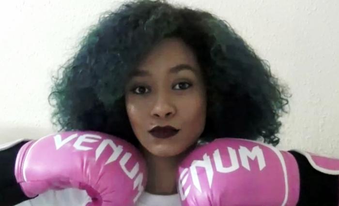 boxe mulher feminino garota