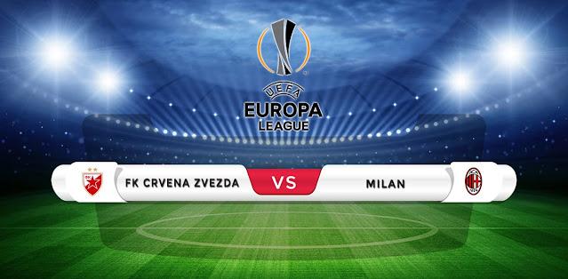 Red Star Belgrade vs AC Milan Prediction & Match Preview