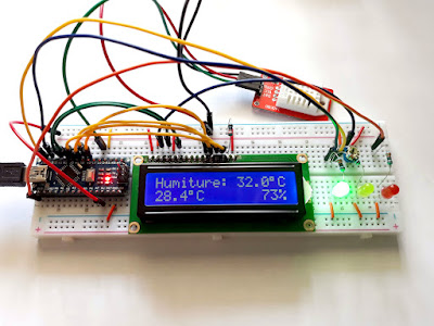 Compute Heat Index with Arduino and DHT Sensor