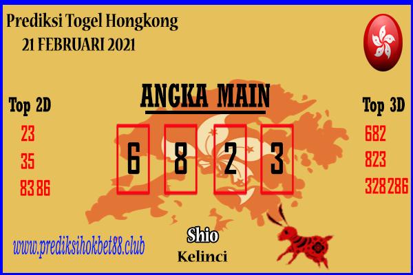 Bocoran Hongkong 21 Februari 2021