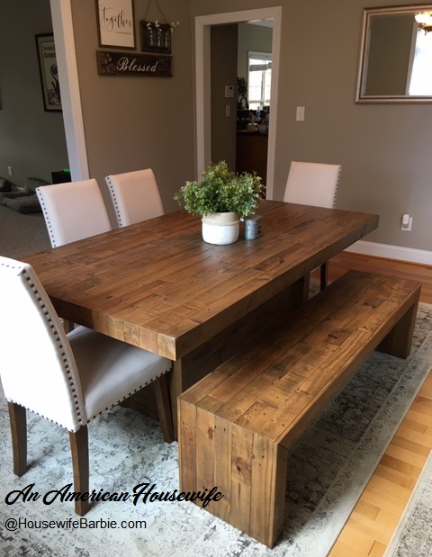 My Ashley Sommerford Farmhouse Dining, Sommerford Dining Room Table