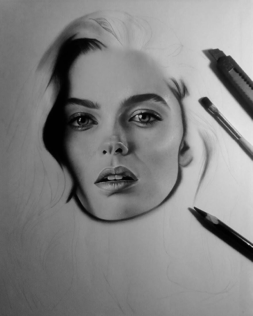 10-D-Ponjavić-WIP-Pencil-Portrait-Drawings-www-designstack-co