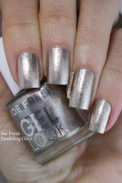 joe fresh gel look sparkling glitz