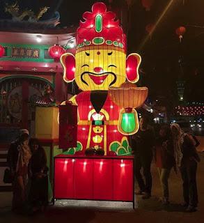 Kampoeng Lampion sebagai vendor lampion cap go meh di Singkawang 2018