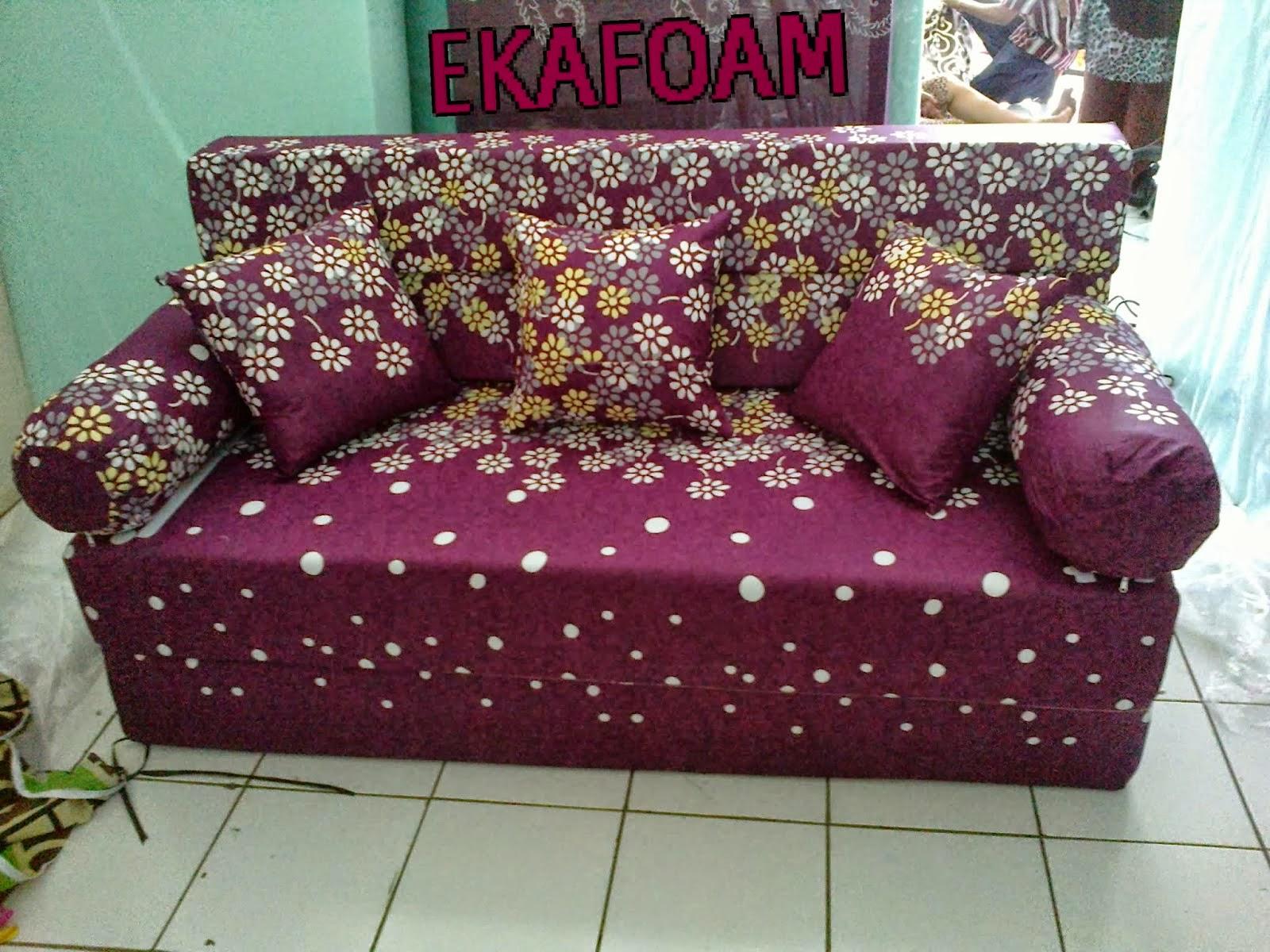 sofa bed kasur busa lipat inoac jakarta best sofas for pet owners 2016 agen tangerang