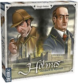 Holmes Sherlock and Mycroft el juego de tablero