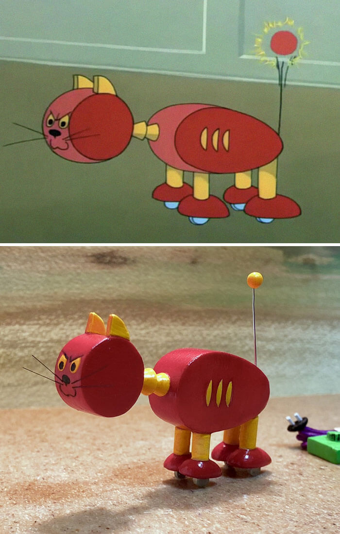Our Favourite Childhood Heroes, Tom And Jerry, Are Now Transformed In Adorably Funny Sculptures