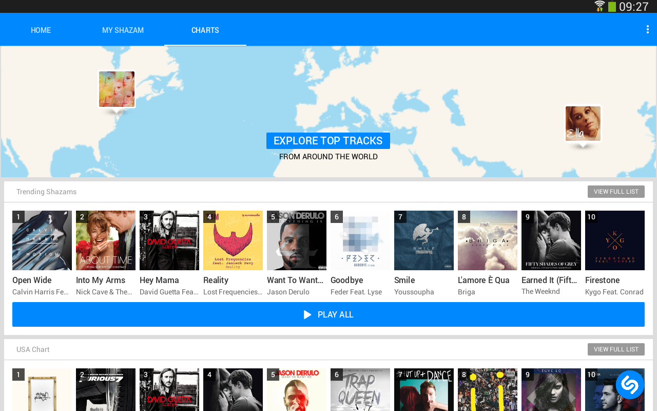 shazam download free android