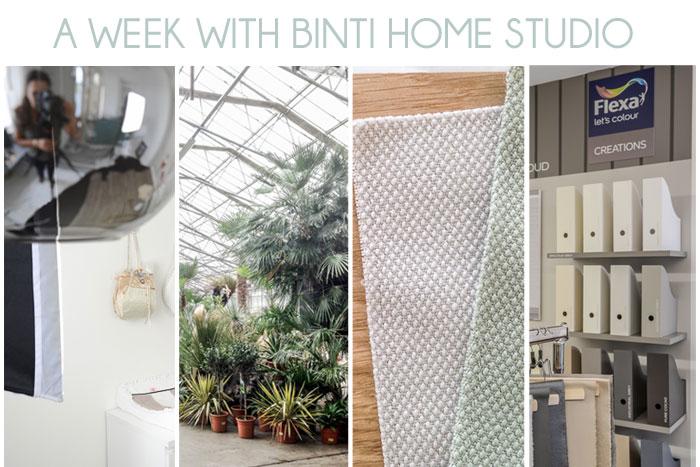Binti Home Studio last week