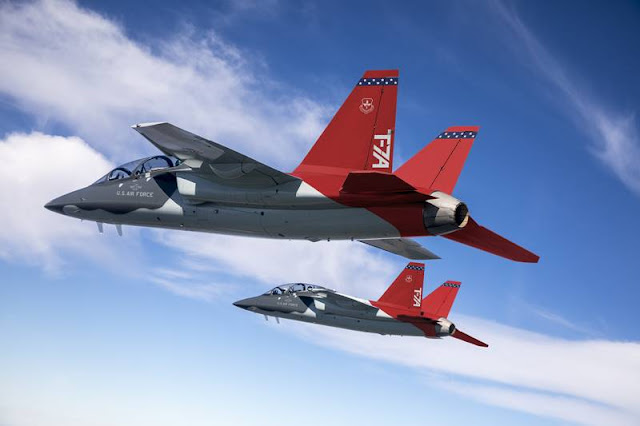 Saab starts production USAF T-7A