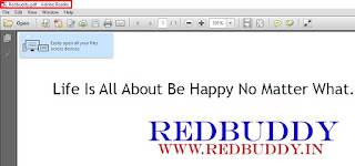 Create A PDF File: Step-4