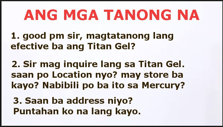how to order titan gel titan gel philippines 0997 7303
