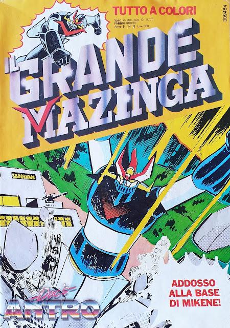 Il grande Mazinga Fabbri 1979