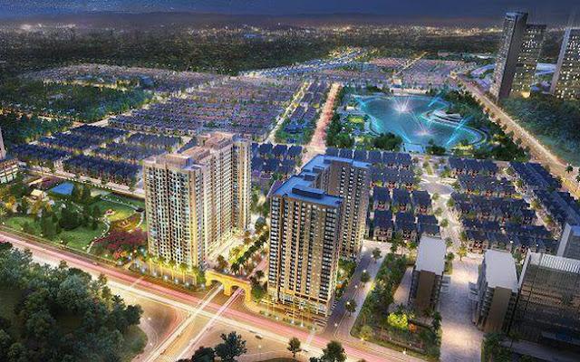 Phối cảnh khu đô thị Dương Nội