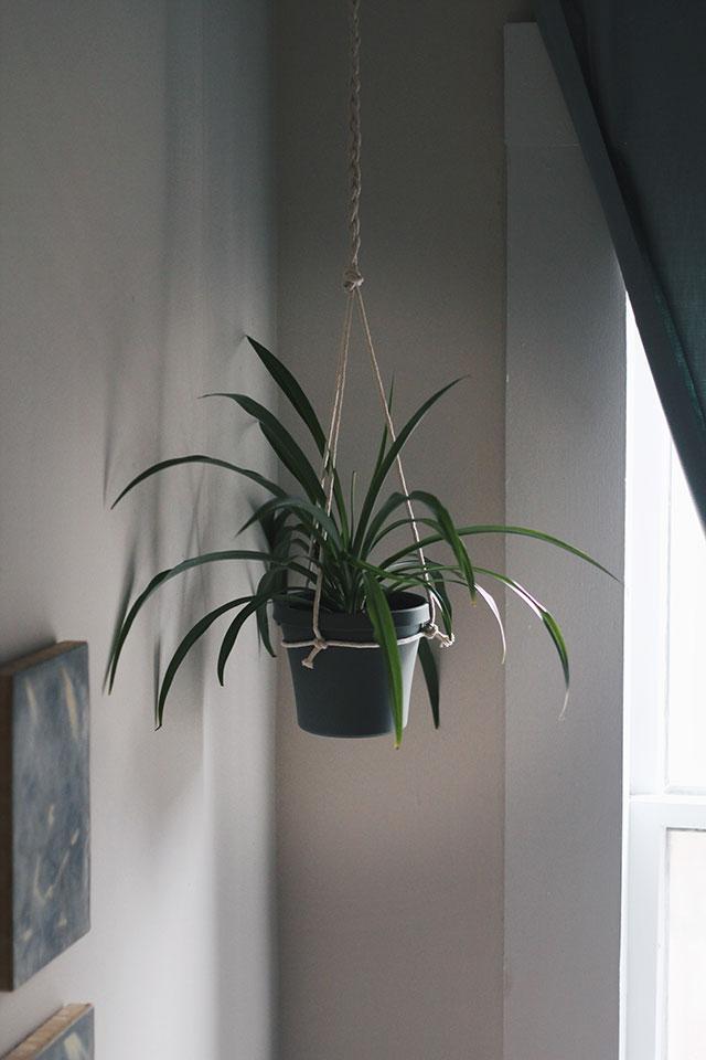 Simple DIY Hanging Planter
