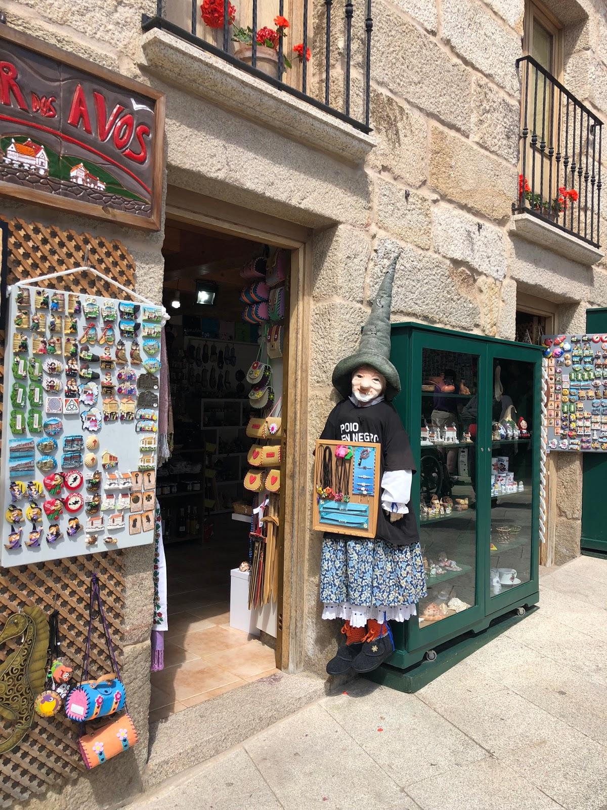 Meu aniversário em Combarro, Espanha