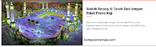 Cara Beli Paket Promo Combo Haji Kartu Telkomsel