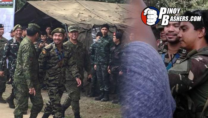 LOOK: Pacquiao Handang Sumabak Sa Bakbakan Sa Marawi City