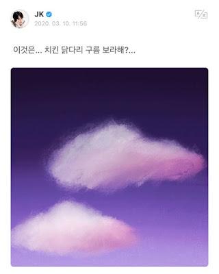 Jungkook BTS Perlihatkan Beberapa Hasil Lukisannya Pada ARMY