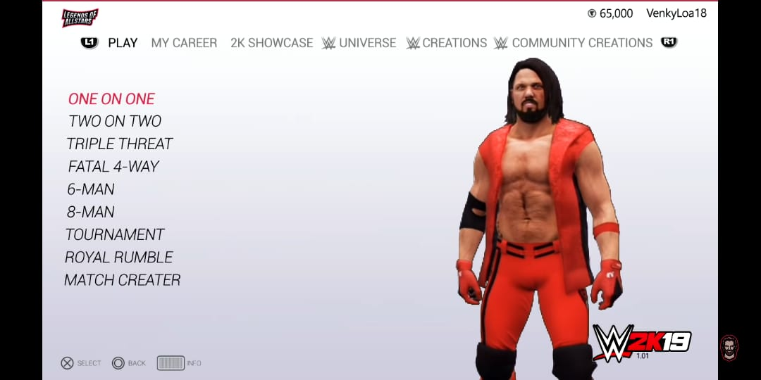 Download (160mb) Wwe 2k19 for android mod in wrestling