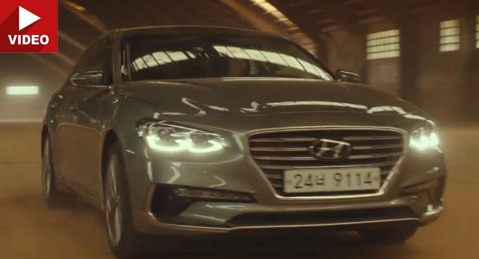 Hyundai S 2017 Azera Grandeur Gets One Helluva Strange Promo Film
