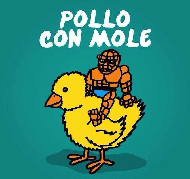 Pollo con mole