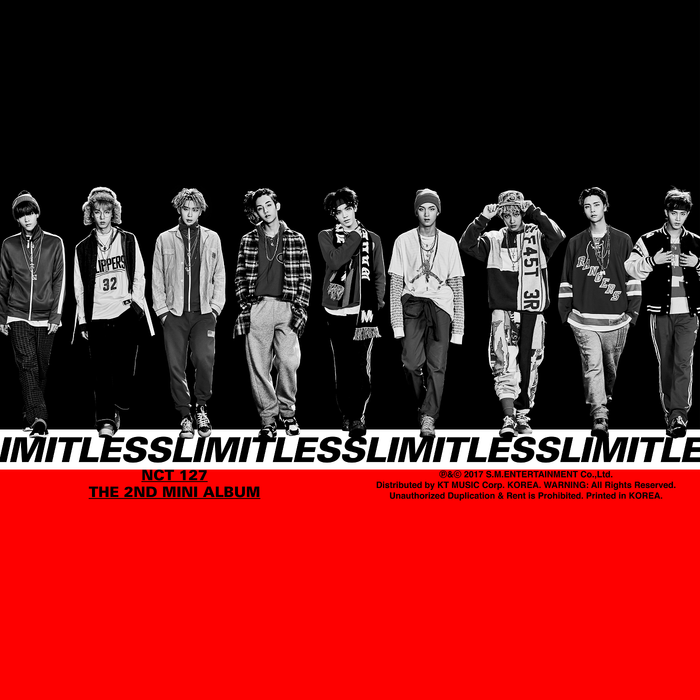 Nct 127 2nd mini album limitless