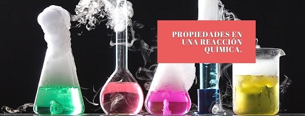 ▷ ¿Qué cambia y qué permanece en las reacciones químicas?