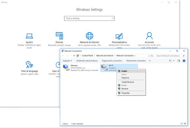 Cara Connect Wifi di Windows 10