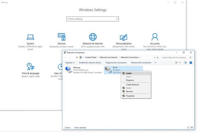 Cara Connect Wifi di Windows 10