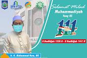 Ir. H. Mohammad Rum, MT Mengucapkan Selamat Milad Muhammadiyah ke-111