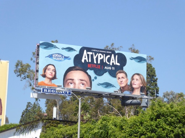 Atypical series premiere billboard