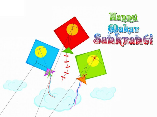 Makar Sankranti Kite Photo
