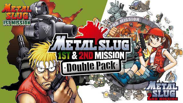 Metal Slug 1st & 2nd Mission Double Pack é lançado no Nintendo Switch