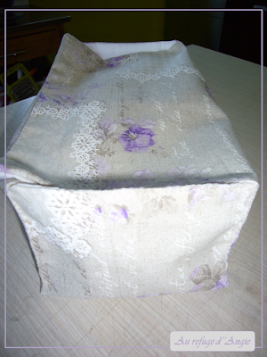 tuto sac à pain en tissu