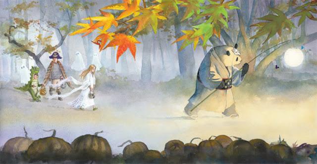 En route pour une histoire de fantômes zen