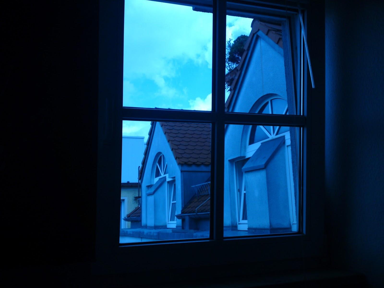 Das Fenster ist angekippt
