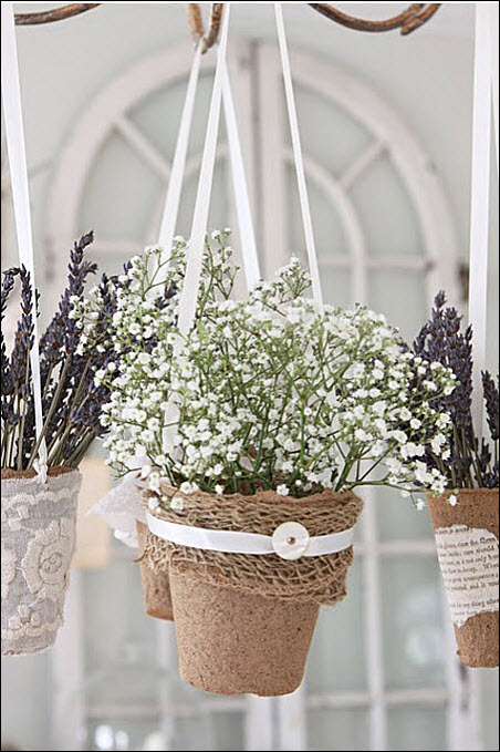 There are some fabulous ideas to decorate a simple Peat Potu2026the results are in a wordu2026GORGEOUSu2026see if you agreeu2026you can hop over there to see more beautiful ... & 25 Flower Pot DIYu0027s - The Cottage Market