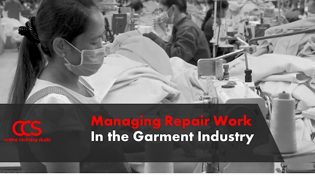 Garment repair work