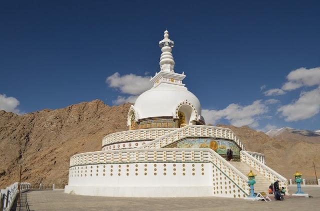 Shanti Stupa, Best Places to visit in Ladakh