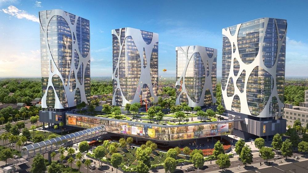 Trung tâm thương mại Lotte tại khu đô thị Him Lam Green Park