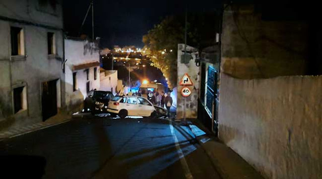 Han sido cinco los coches los involucrados en el accidente múltiple de la carretera de Almatriche