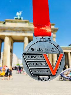 Velothon Berlin Medaille Medal