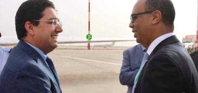وزير خارجية المغرب يحل بنواكشوط لترتيب زيارة محتملة لمحمد السادس.