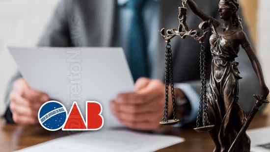 oab prazos processos suspensos solicitacao advogado
