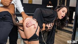 Slutty brunette Alysa Gap adores hardcore anal sex so much