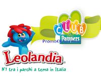 Logo Pampers ''Gioca e vinci un parco di emozioni 3° edizione'' :vinci pacchetti famiglia Leolandia e buono sconto sicuro