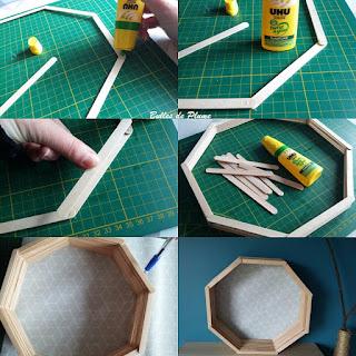 DIY Etagère octogonale