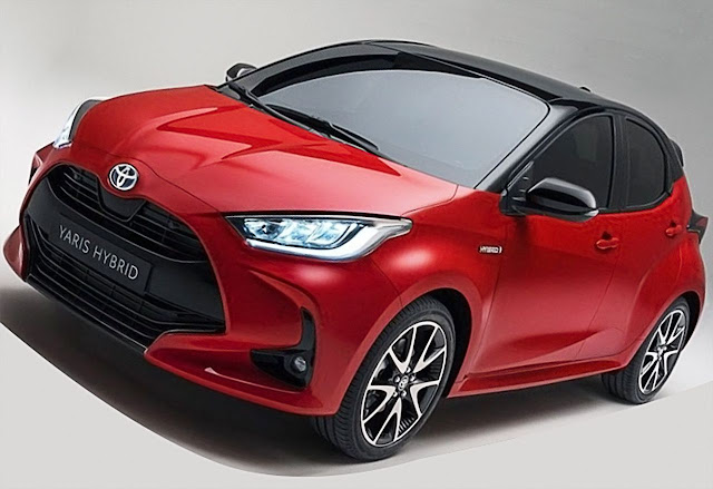 toyota-yaris-hybrid-hatchback-red-front-exterior-2020